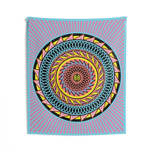 Bass Head Tapestry
