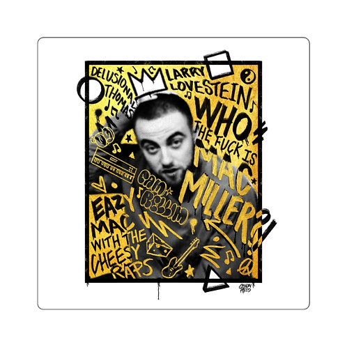Who is Mac Miller Sticker