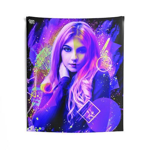 Cosmic Eyes Tapestry