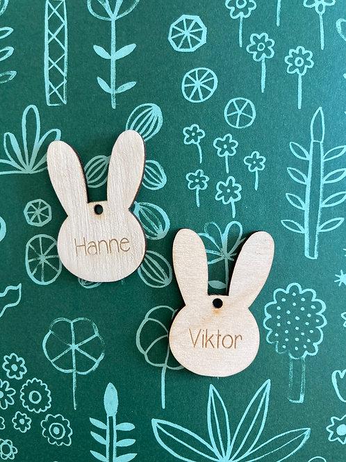 Hangertje met naam - Pasen