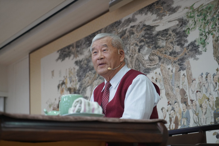 孔德成先生在日韓文化交流的成就