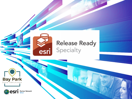Bay Park Data Solutions Awarded the Esri Release Ready Specialty Designation
