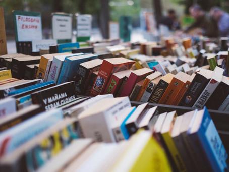 Minhas feiras de livros favoritas