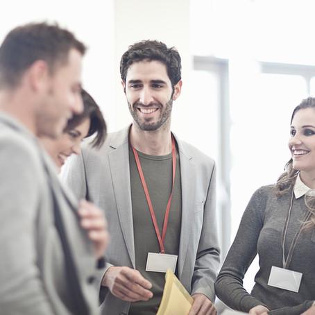 5 coisas que você nunca deve falar em um evento corporativo