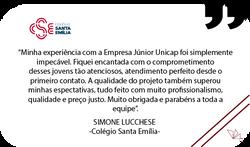 Depoimento Colégio Santa Emília
