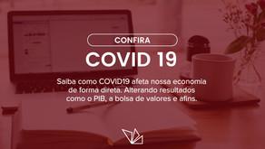 Como o COVID19 afeta a economia brasileira, e por que?