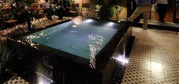 iluminacão led piscinas Jardim