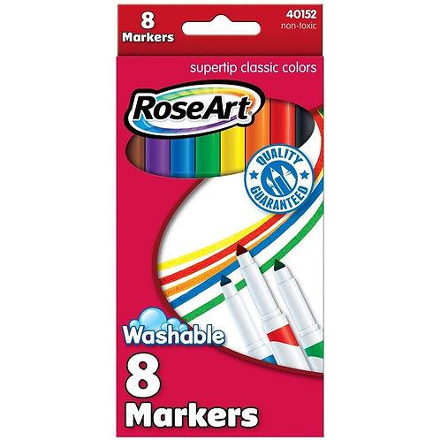 Rose Art Washable Finetip Markers