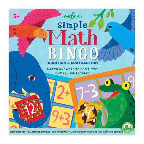 Eeboo Math Bingo
