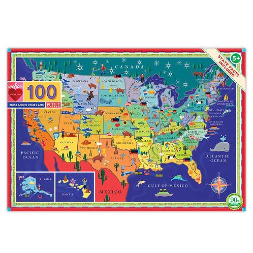 Eeboo 100 piece Puzzles