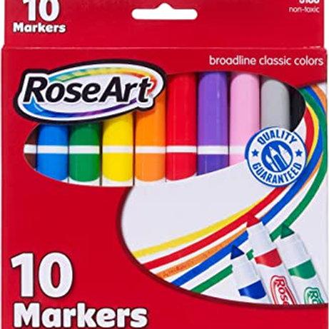 Rose Art Broadline Markers