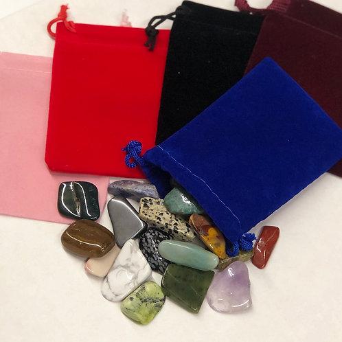 Handpicked Bag of Polished Gemstones