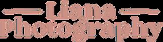 Liana Photography Logo in Pink