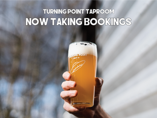 Taproom Bookings Now Open!