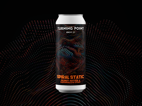 Spiral Static // 10.0% // Peanut Butter & Marshmallow Stout