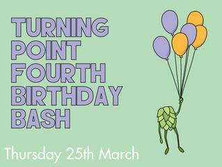 TP Fourth Birthday Bash!