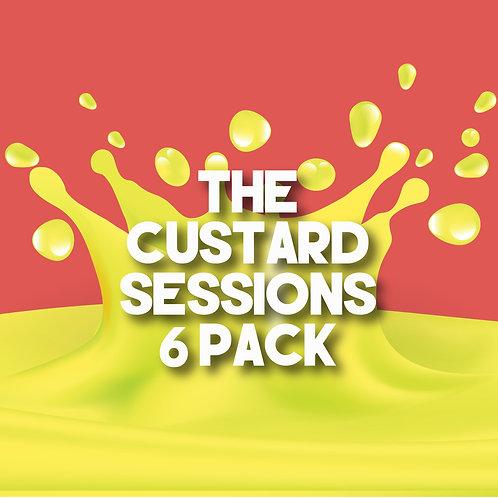 Custard Sessions 6 Pack