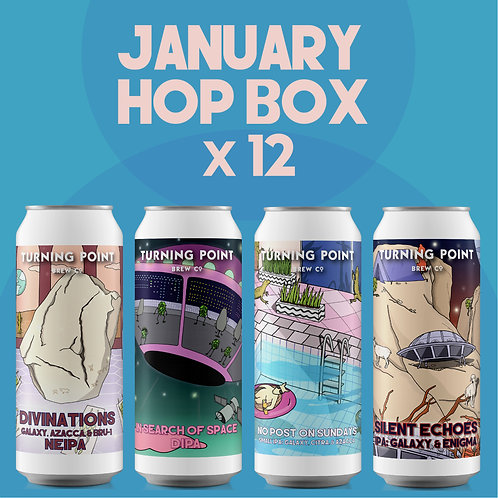 January Hop Box 12 Pack