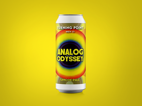 Analog Odyssey // 4.8% // Simcoe Pale