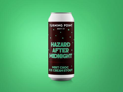 Hazard After Midnight // 5.7% // Mint Choc Ice Cream Stout