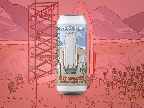 Out Spaced 6.2% West Coast IPA