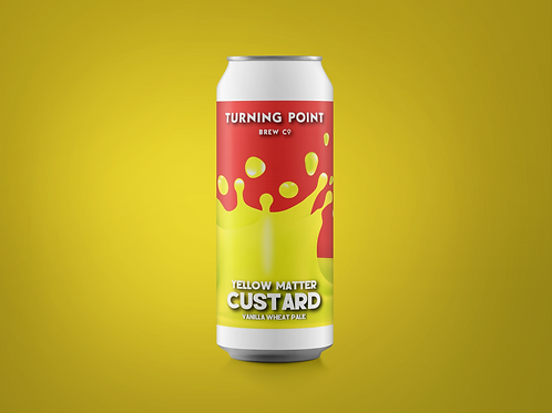 Yellow Matter Custard // 6.0% // Vanilla Wheat Pale