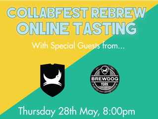 Collabfest Online Tasting 28th May 2020