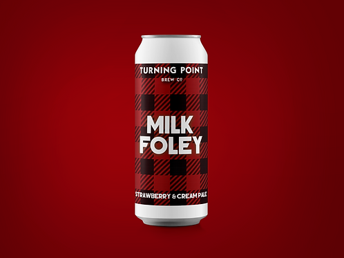 Milk Foley // 6.3% // Strawberry Cream Pale