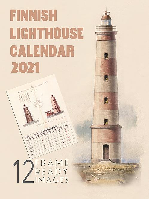 Finnish 2021 Calendar