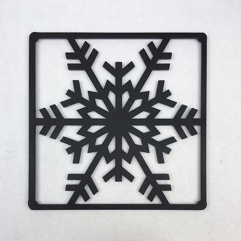 Snöflinga grytunderlägg / trivet
