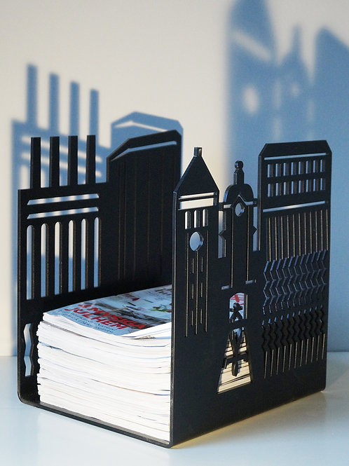 Norrköping magazine/wood holder