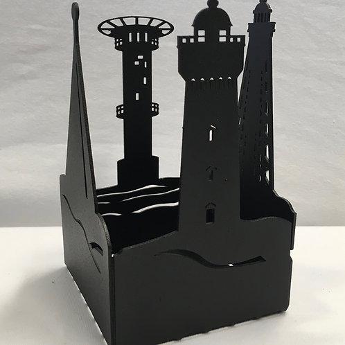 Västkust fyrar candle box