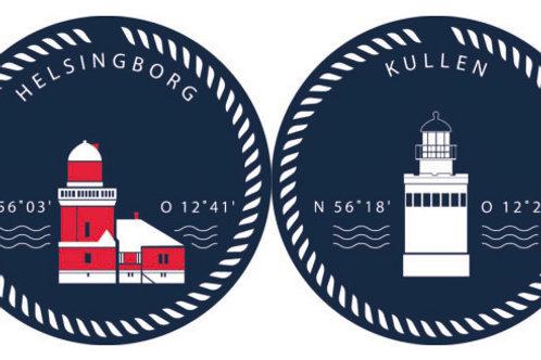 Kullen & Helsingborg grytunderlägget/hot pad