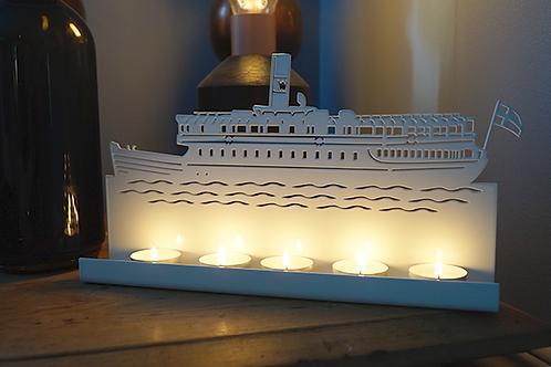 Waxholmsbåt ljushållare