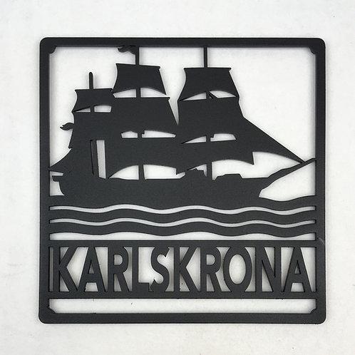 Karlskrona grytunderlägg / trivet