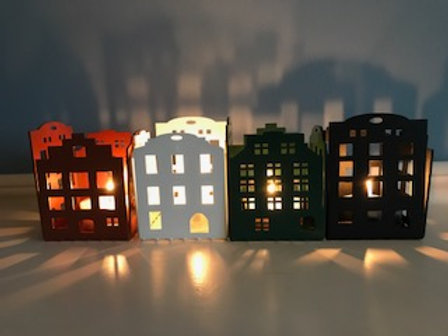 Gamla Stan candle holder 4 pack