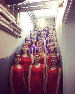 Final number of the night! #westend #danceschool #jazz #flappergirls 💃🏽