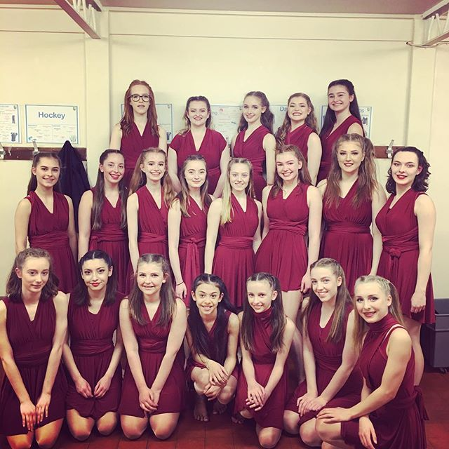 Gorgeous girls take 2! Very proud teacher ⭐️ #stalbans #dancecompany #LDA
