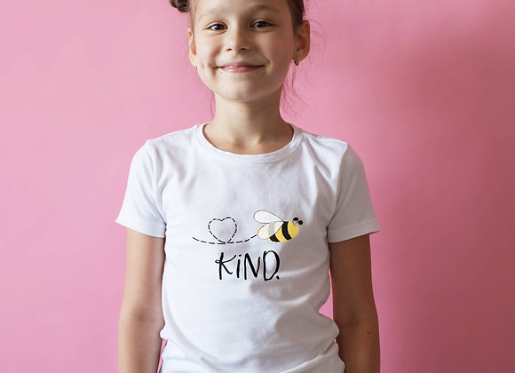Kids' Organic Cotton TShirt - Bee Kind
