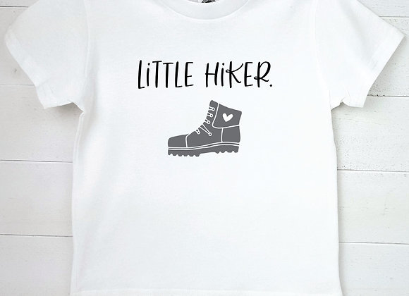Kids Organic Cotton TShirt - Little Hiker