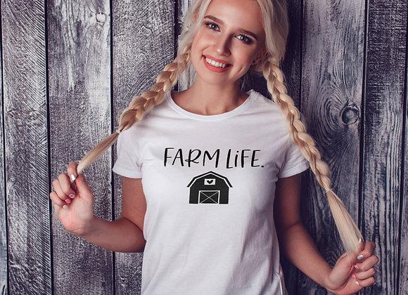 Women's Organic Cotton TShirt - Farm Life