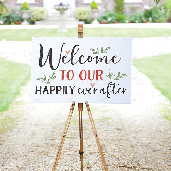 COMMERCIAL LICENSE Wedding Welcome Digital Graphic