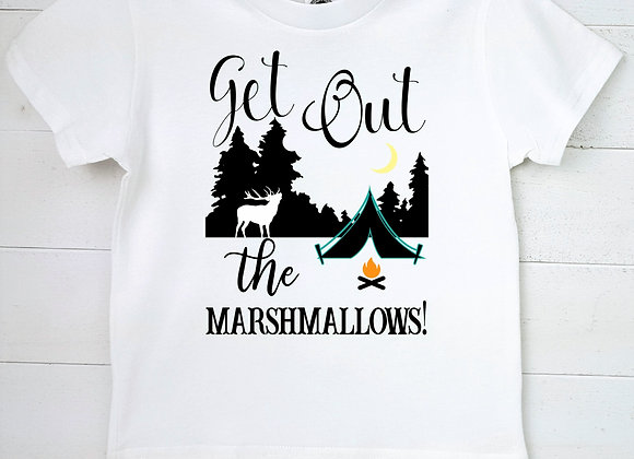 Kids Organic Cotton TShirt - Get Out the Marshmallows