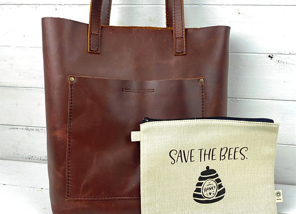 Save the Bees Hemp Pouch