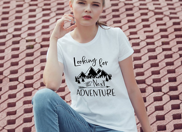 Women's Organic Cotton TShirt - Looking for the Next Adventure
