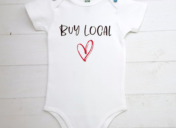 Organic Cotton Baby Bodysuit - Buy Local