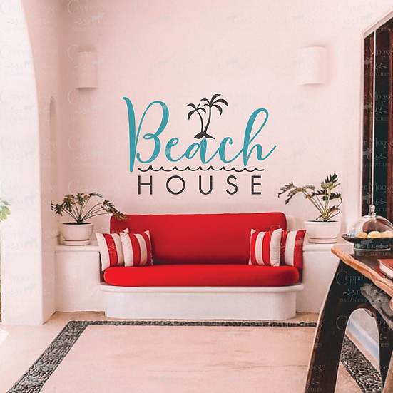 COMMERCIAL LICENSE Beach House Digital Graphic