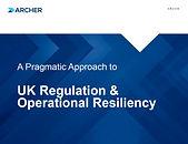 A Pragmatic Approach to UK Regulation an