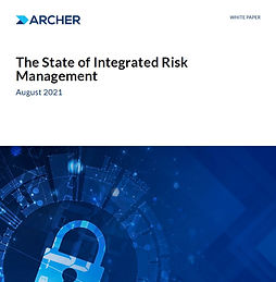 State of Integrated Risk Management Report