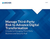 Manage Third Party Risk to Advance Digit